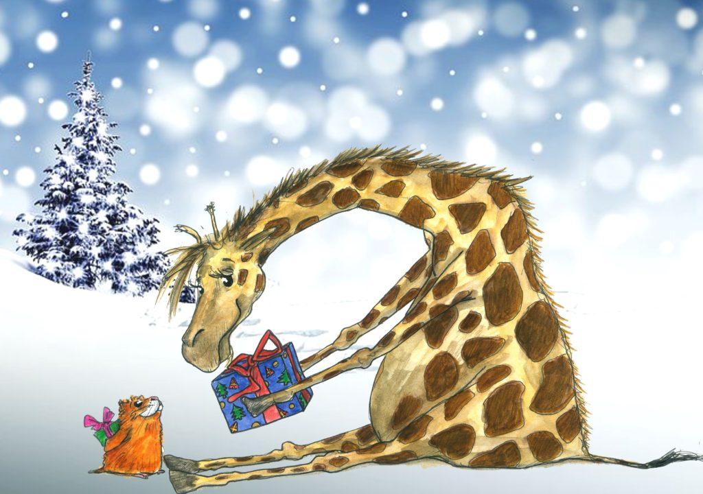 Kareltje en Sjonnie geven elkaar een cadeau